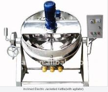 Steam heating jacketed cooker equipment