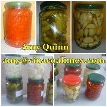 CANNED VEGETABLES: PINEAPPLE, GHERKINS, TOMATO,GARLIC, SWEET CORN