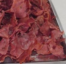 dried pork,dried meat,delicious snack food,good taste meat