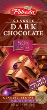 Dark chocolate Nuts& Raisins 50% cococa ec.
