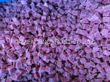 IQF  purple   sweet   potato ,sliced/diced