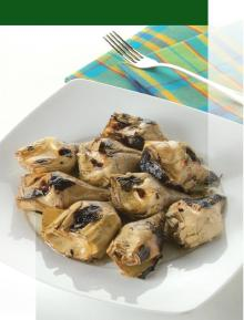 GRILLED ARTICHOKES WITH STEMS