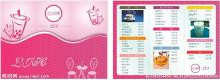 bubble tea shop menu, bubble tea recipe, drinks shop menu