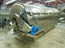 Stainless steel rotary blancher