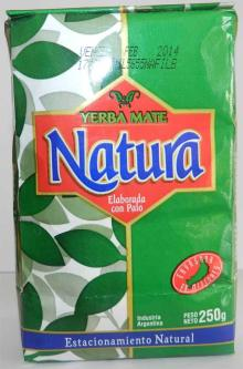 Packed yerba mate