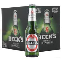 Becks Premium German Lager Beer - 12 x 660 ml