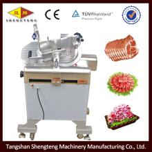 32 vertical full automatic frozen meat slicer machine