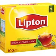 Lipton Tea Bags, 100ct