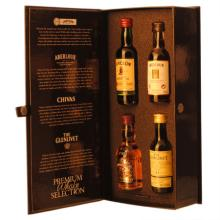 Premium   Whisky  Selection Box 4x5cl Chiv/Glenliv/Aberl/Jamsn