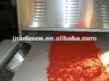 Chilli powder microwave drying sterilization equipment