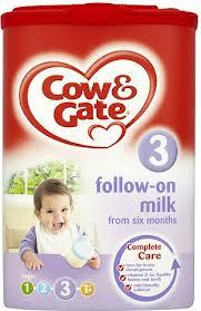 Cow And Gate 6Mth+ Follow On Milk Powder 900G x 6