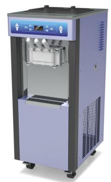 pre-cooling system frozen yogurt machine