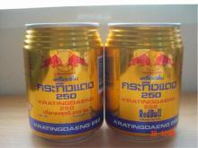 Red Bull (Kratingdaeng) Energy Drink 250 ml Thailand.