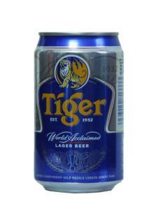 Wholesales Tiger Beer in 330ml tin