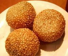 frozen Sesame Seeds Rice Balls