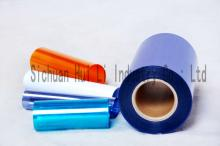 Rigid PVC film for blister packaging