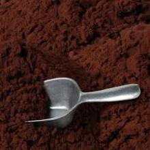 Cocoa powder and baking powder
