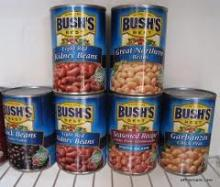 canned kidney beans/ canned green beans /canned baked beans