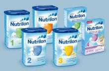 Nutrilon baby milk powder formula 1 and 2
