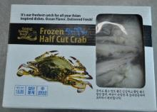 Frozen Half  Cut   Crab