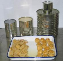 The sale of canned mushrooms