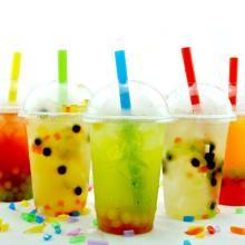 bubble  fruity   tea