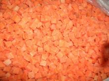 Fresh and Frozen Carrots