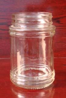 250ml round glass jar