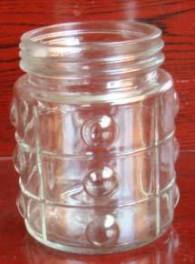 320ml nice glass jar