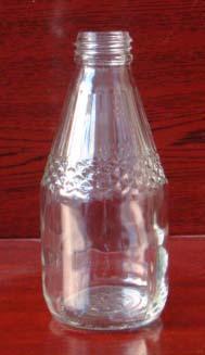 210ml glass juice bottle