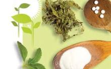 healthy stevia powder
