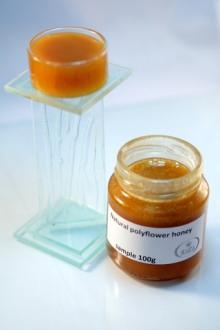 Natural polyflower honey