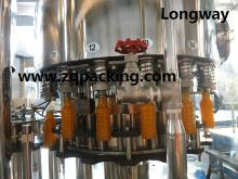 Fresh fruit orange juice filling machine for PET bottle