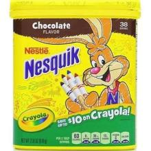 Nestle Nesquik Powdered Milk Mix, Chocolate