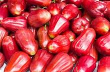 Fresh Red Rose Apple Fruit