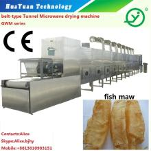 Microwave fish maw roasting drying dryer machine