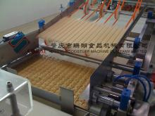 Chocolate enrobing wafer machine