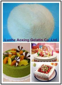 gelatin powder used for cake