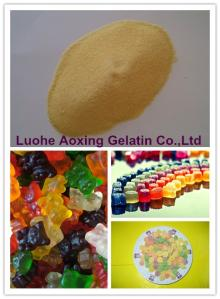 bovine hide gelatin used for jelly candy