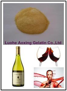 edible gelatin used for wine