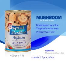 Mushroom canned high quality net weight 350 gr Easy open