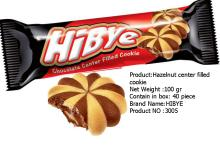 hazelnut canter filled cookie