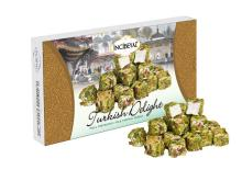 TURKISH DELIGHT WITH MILK & FULL CRATED PISTACHIO