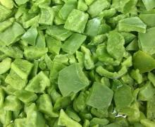 frizen green pepper diced