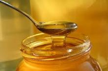 100% natural honey with different nature wild flowers