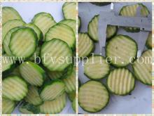 wholesale IQF Frozen zucchini slice