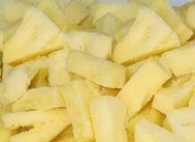 IQF queen victoria pineapple tidbit