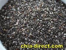 natural black chia seeds