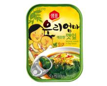 Sempio Canned Sesame Leaves in Soy Sauce