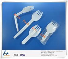 plastic PP foldable spork